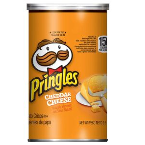 Pringles Cheddar Cheese Flavored Chips