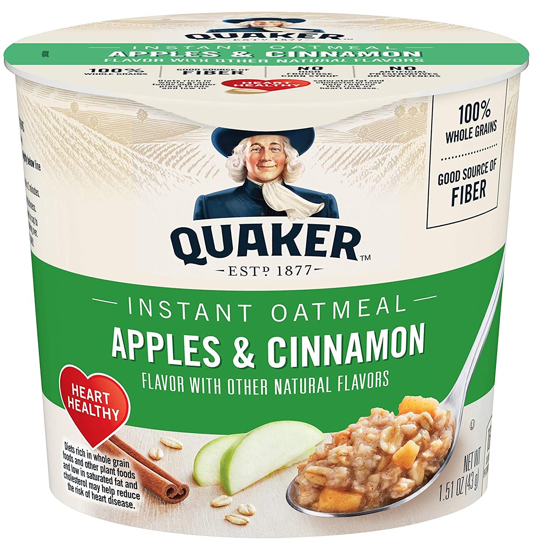 Quaker Oatmeal Express Apple Cinnamon
