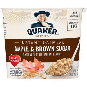Quaker Oatmeal Maple n Brown Sugar 1.69oz