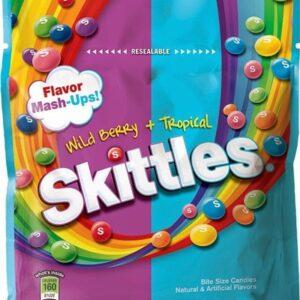 skittles mashups wildberry tropical candies