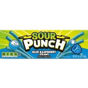 sour punch blue raspberry straws