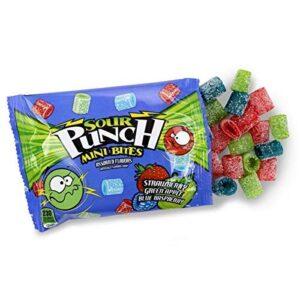 sour punch mini bites candies