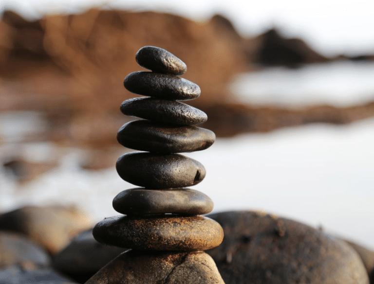 Rocks stacked to represent Therapy Services San Antonio, TX