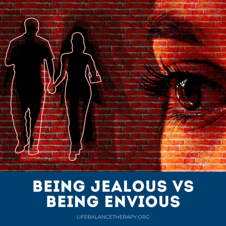 Being Jealous vs Being Envious