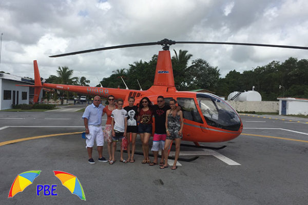 VIP Helicopter Excursion to Saona Island