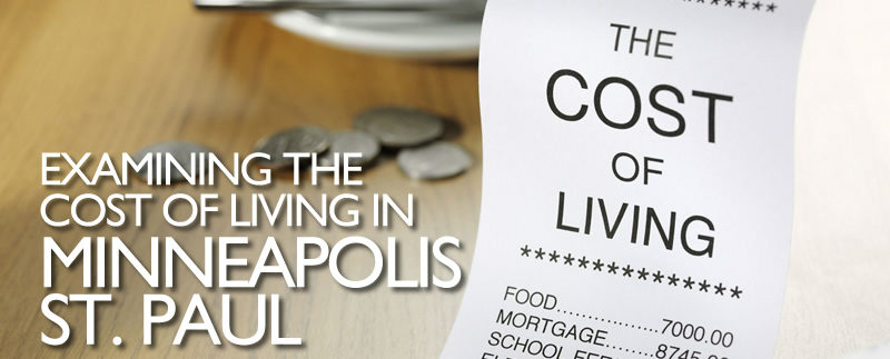 Cost of living in the Twin Cities area