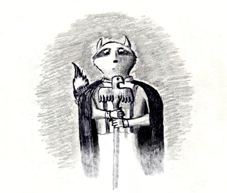 Acorn pencil cover sketchagain