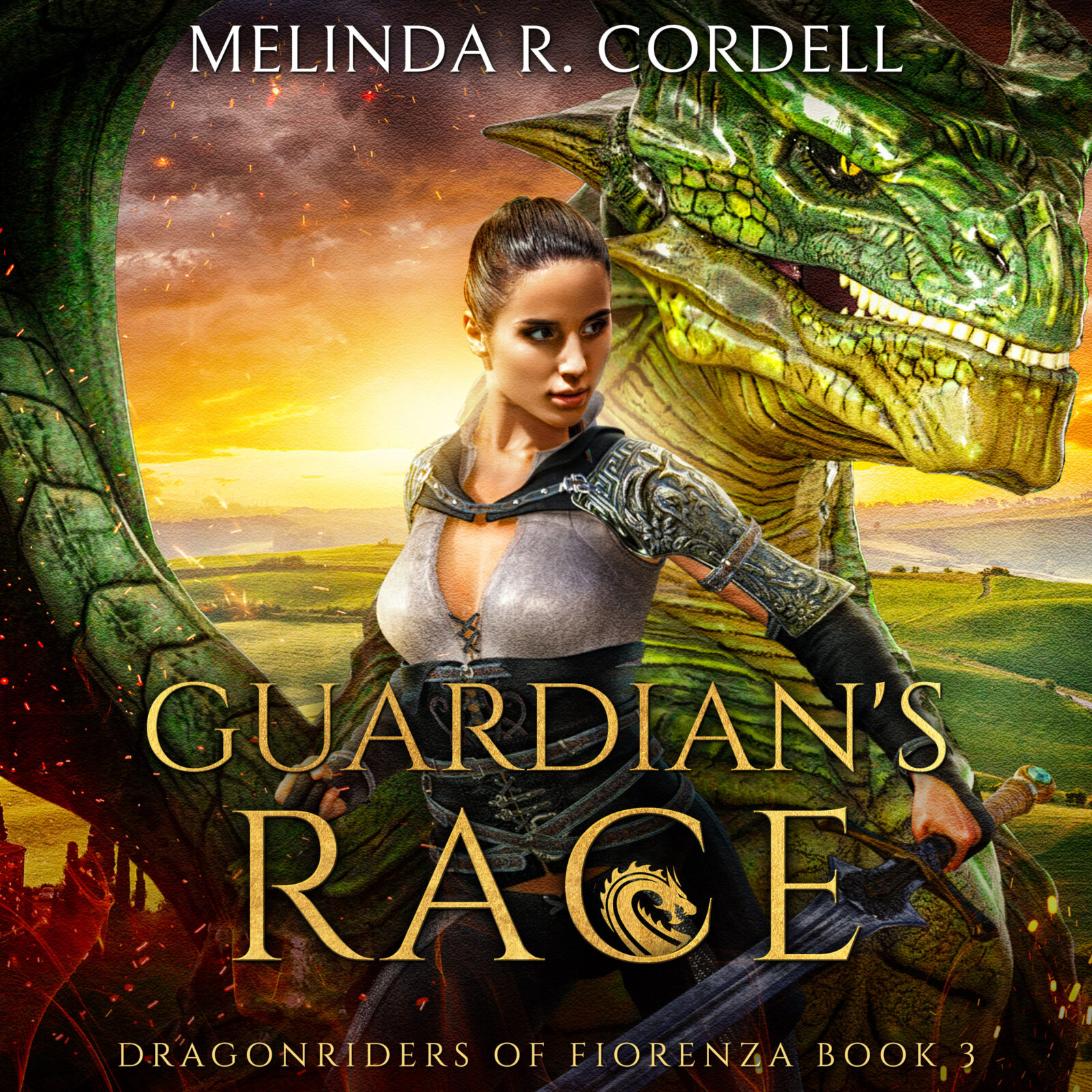 book cover of Guardian's Race with Fia and dragon