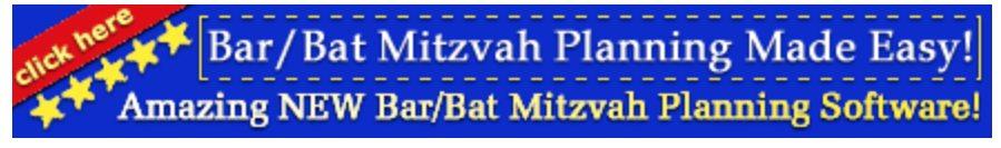 mitzvah planning