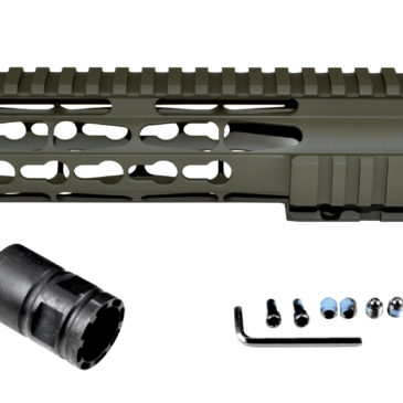 New for your AR15 .223/5.56…Cerakote Coated Handguards!   Dark Green, currently available in 7″ and 10″