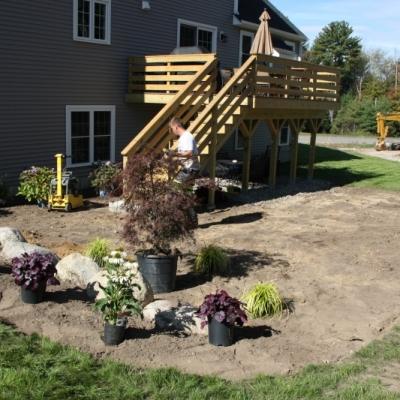 Before backyard patio