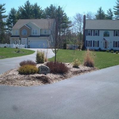 Before paver edge 1