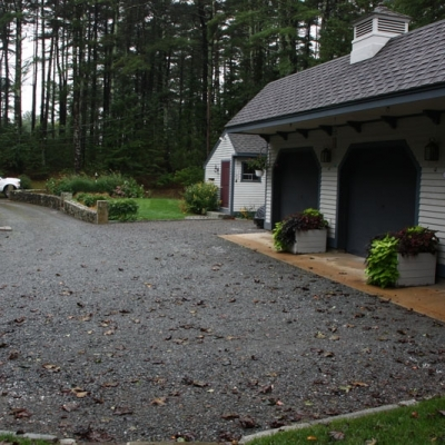Before driveway