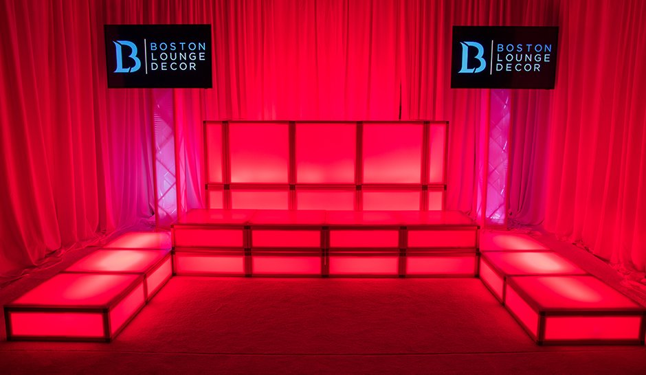Deluxe DJ Booth and Dance Staging