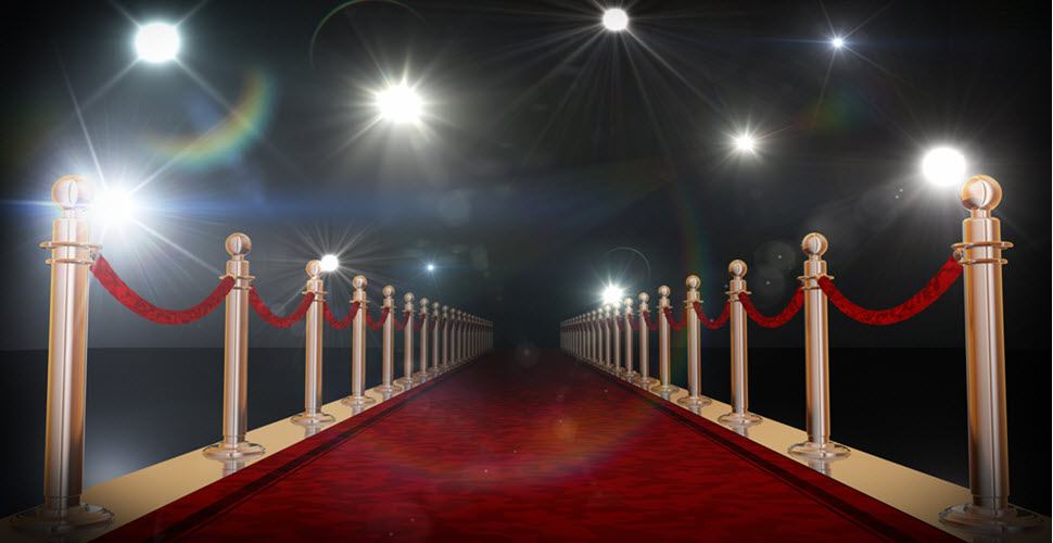 Red Carpet Themed Event