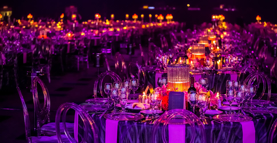Elegant Furniture At Event