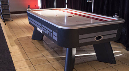 Air Hockey Themed Party