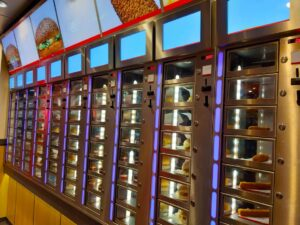 A vending machine meal, like a sandwich, can be a healthy lunch substitute many don't realize.