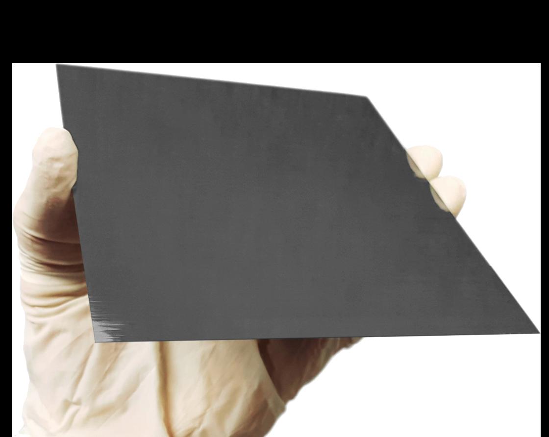 single-crystal silicon wafer ribbon