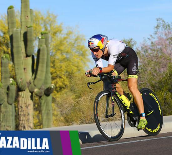 Sebastian Kienle at Cactus Man Triathlon 2018