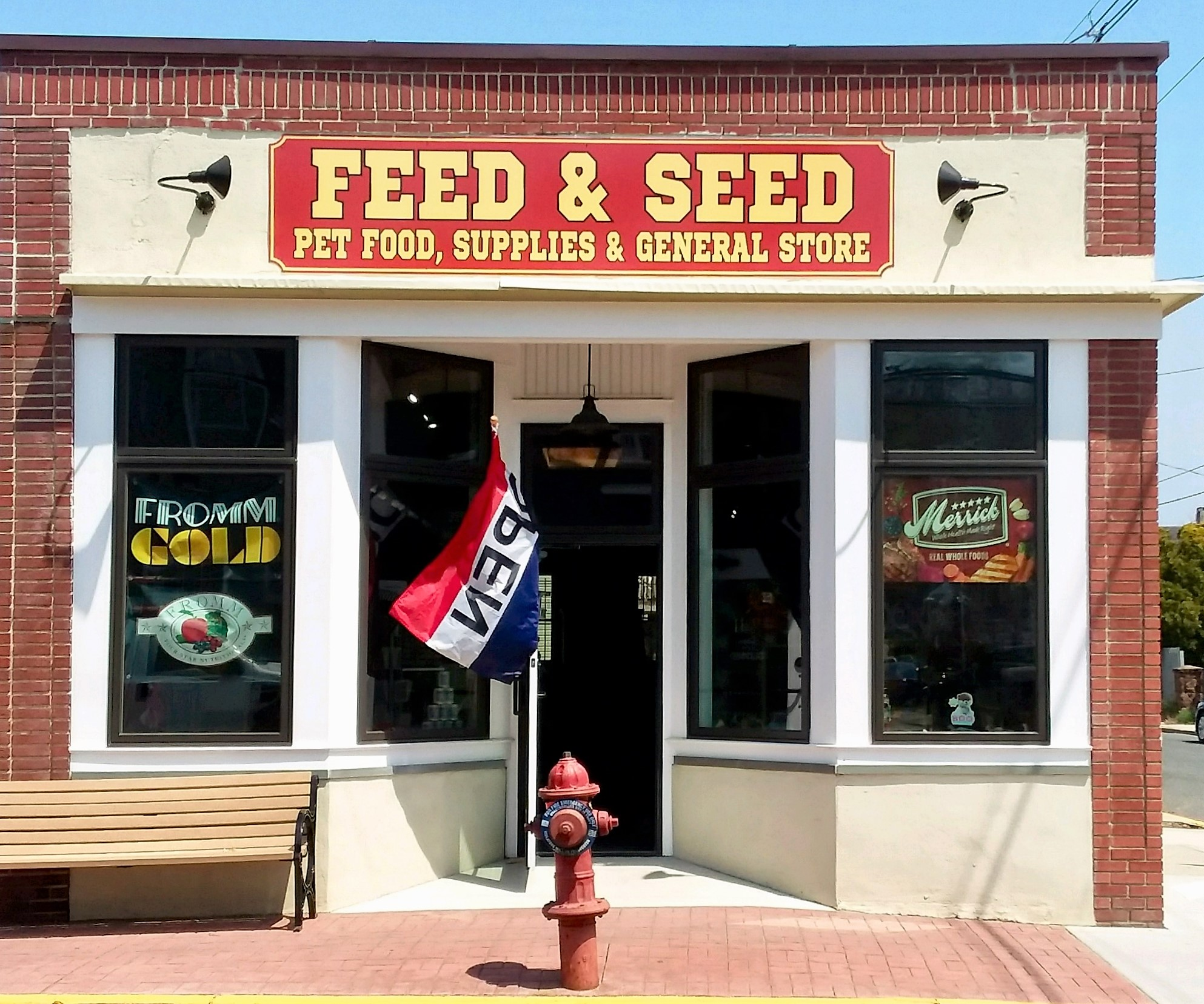 feed and seed storefront