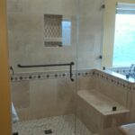 Frameless shower Enclosure in Corona