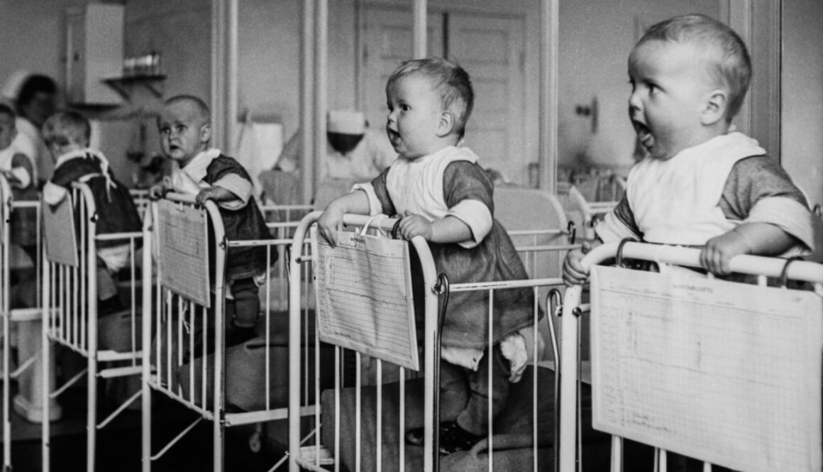 babies in orphanage