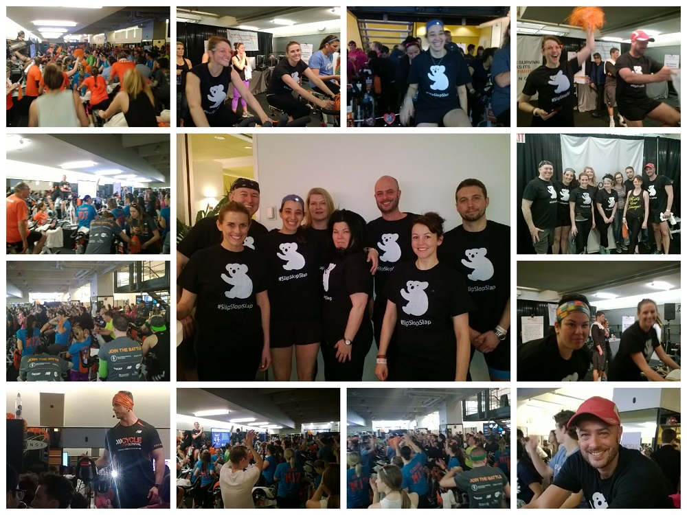 March 2015 @ Cycle for Survival