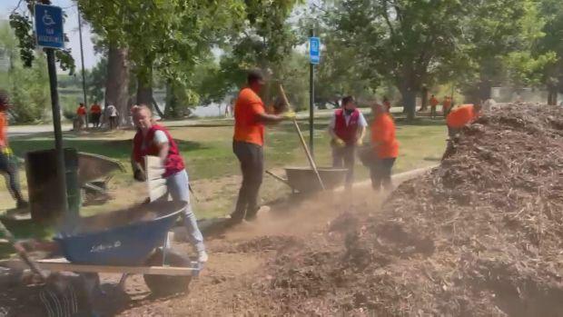 Sloan's Lake Park Cleanup July 26, 2021