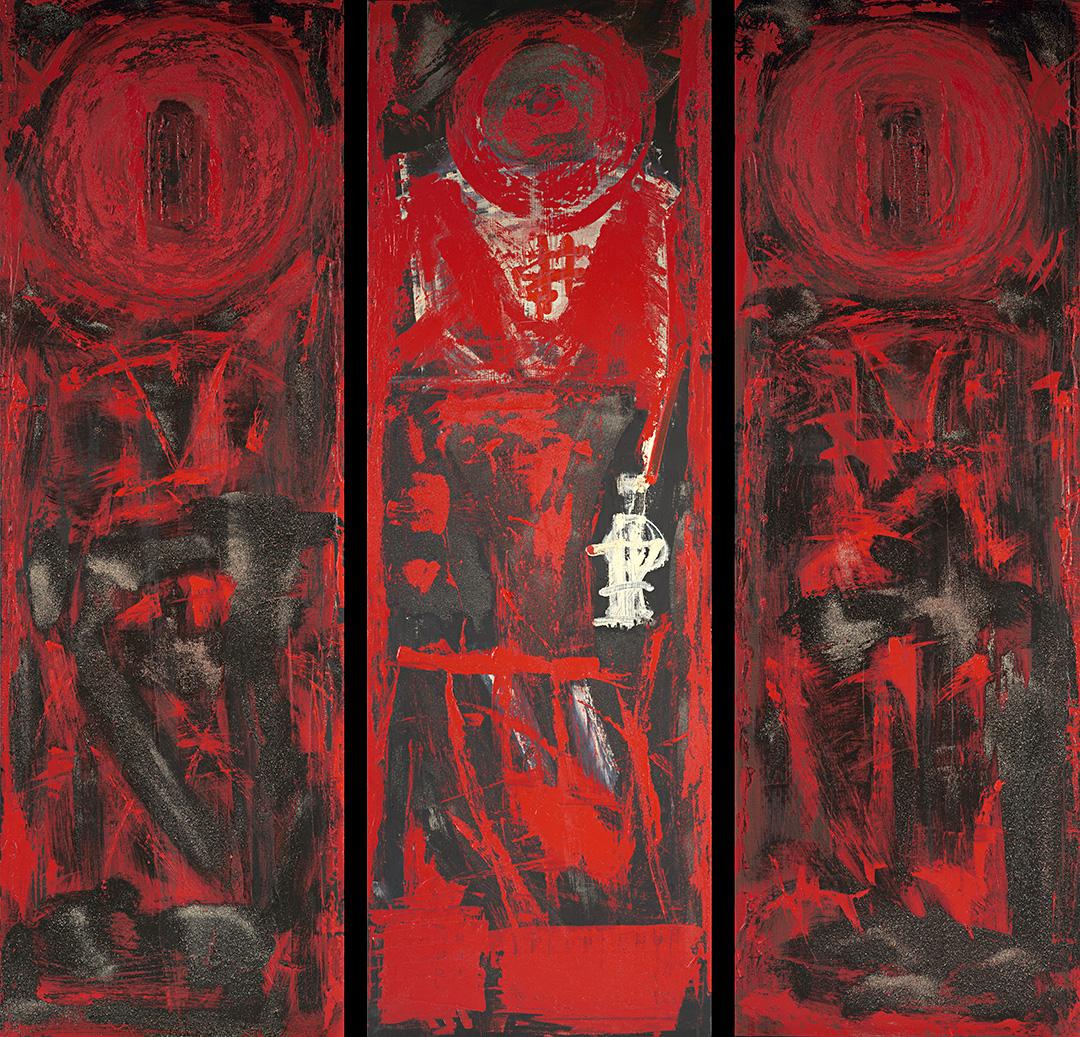 Forgotten Warrior Triptych
