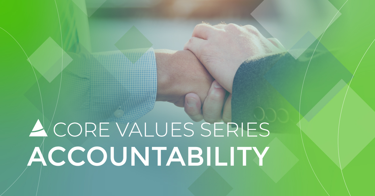 Core Values Series: Accountability