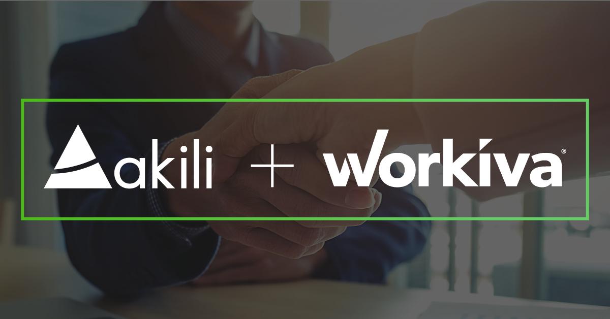 Akili Announces Workiva Partnership