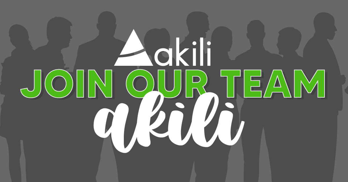 Join Our Akili Team