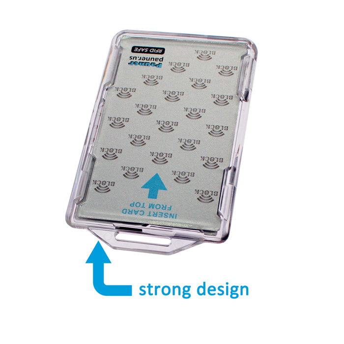 hspd 12 twic cac card holder RFID block