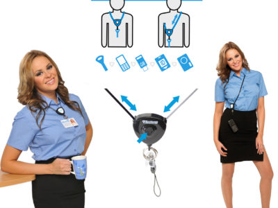 ID lanyards with ID holder