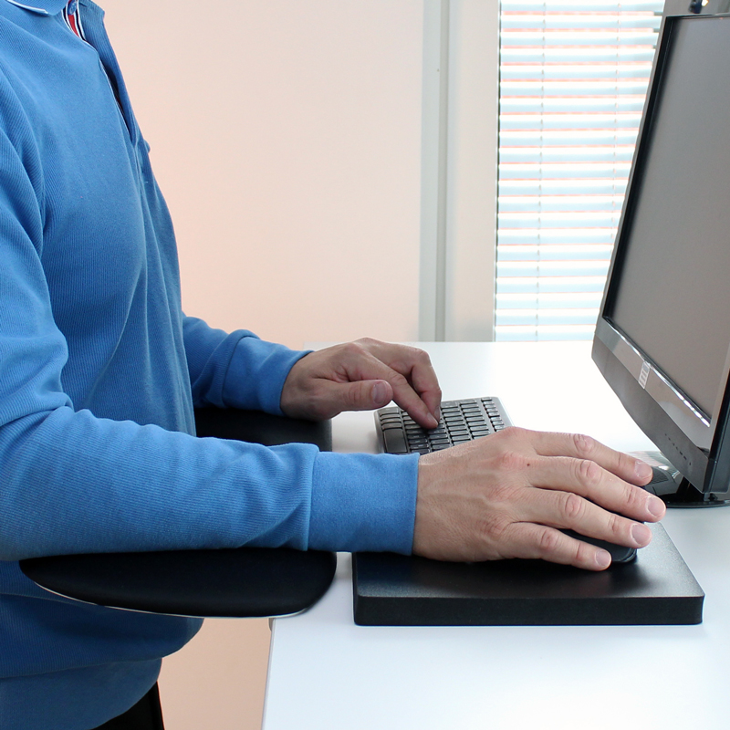 ergonomic mouse pad er computer arm support