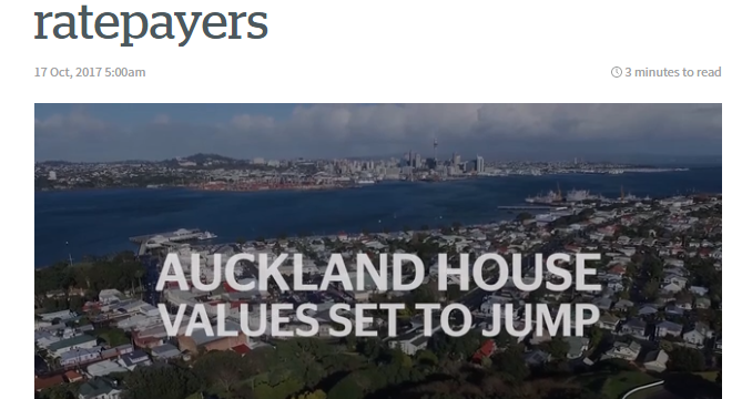 NZ Herald editorial: Valuations create new anxiety for ratepayers