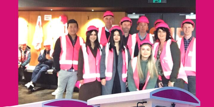 NHV team bonding at Chelsea Sugar Factory