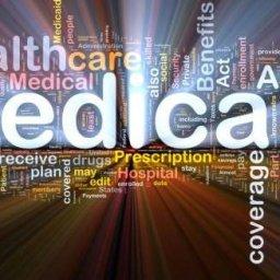 Medicare word art