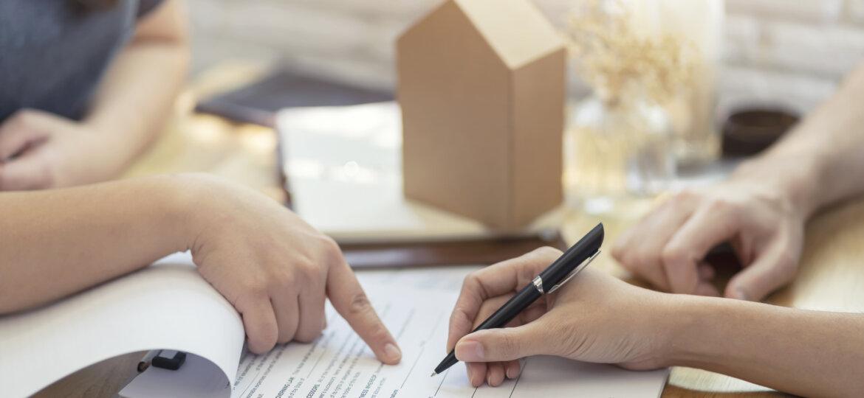 People reviewing paperwork