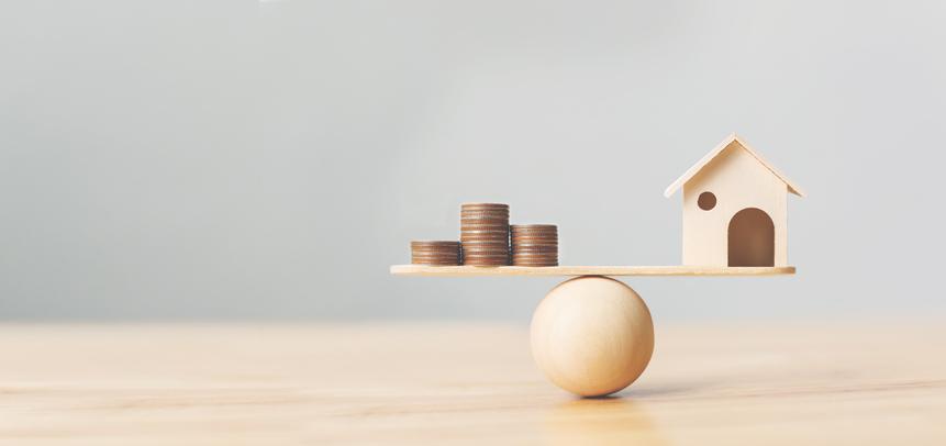 Home balancing on ball