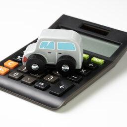 Car on calculator