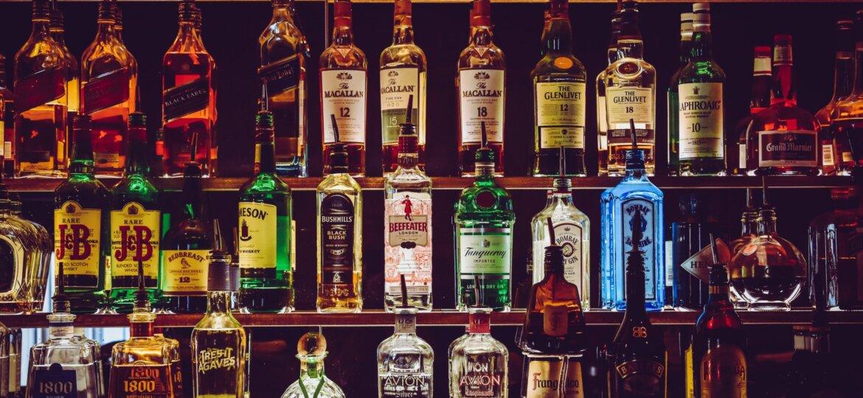 Bar full of liquor