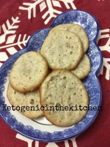 Keto Pecan Shortbread Cookies