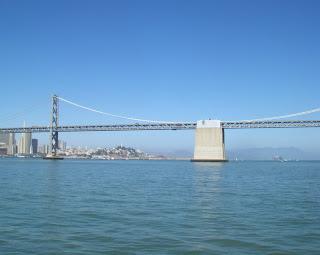 view of bay bridge in san francisco