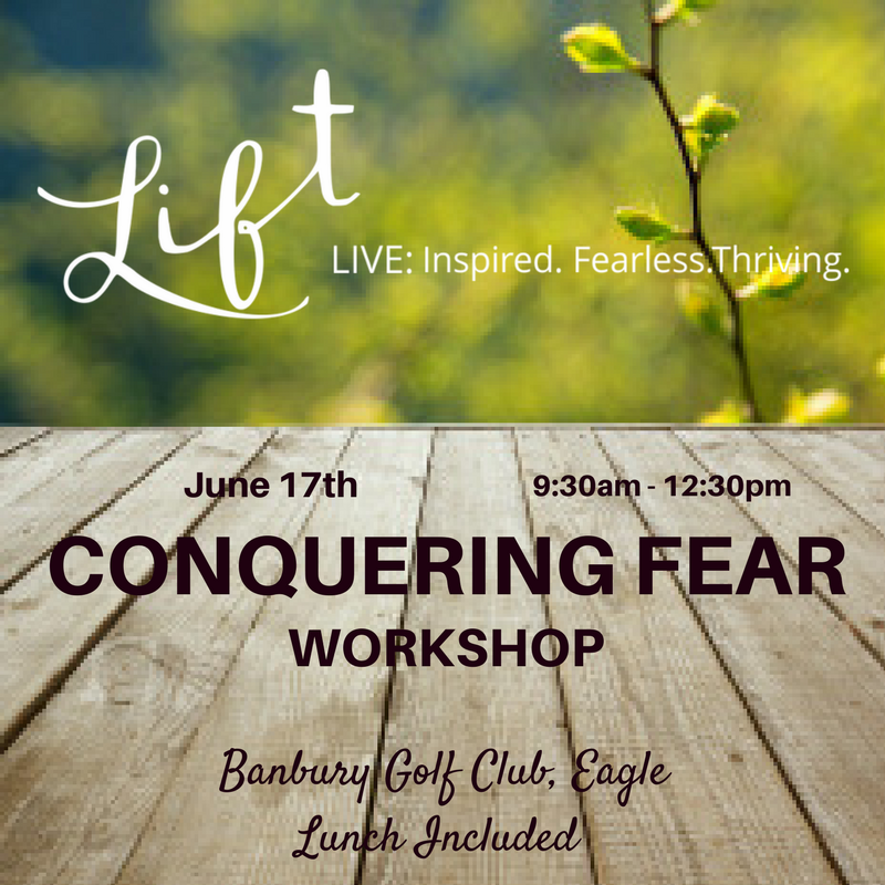 Genny Heikka Conquering Fear Workshop