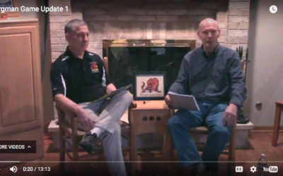 Video: Bergman and Larson Discuss the Game of Rugby