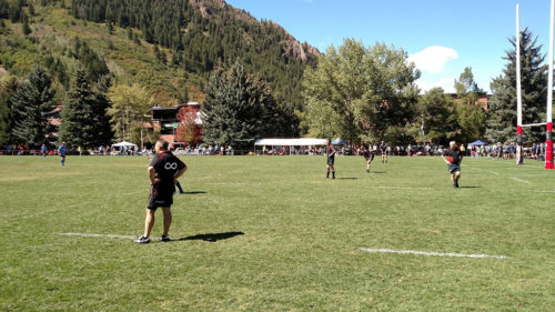 Playing in Aspen