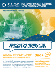 Edmonton Mennonite Centre for Newcomers profile
