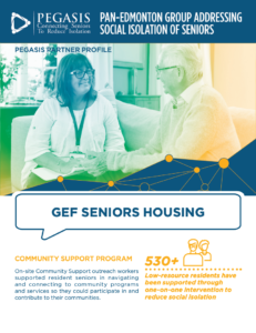 GEF Seniors Housing: Community Support Program profile
